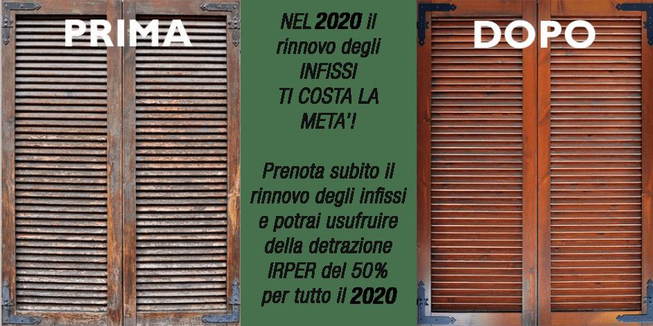 Infissi in legno a Milano